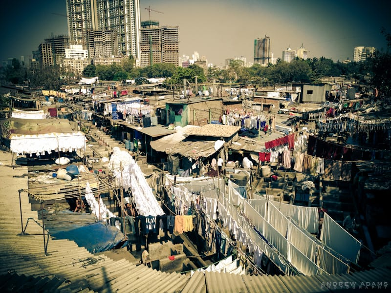 Dhobi Ghat, Mumbai, India, local tour