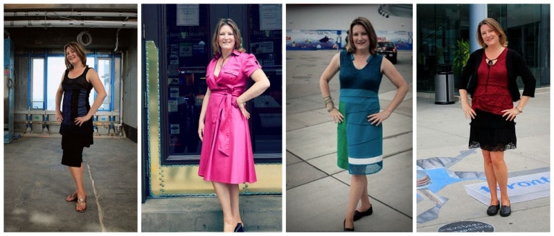 The four locally designed outfits I wore to TBEX Toronto from Fresh Collective