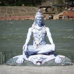 Shiva Rishikesh Ganga / Ganges India