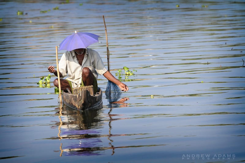 Fishing on the backwaters of Kerala - Travel Photographer Andrew Adams