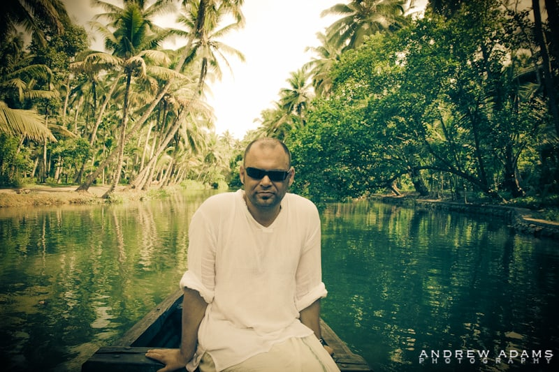 Andrew Adams on the Kerala Backwaters - Travel Photographer Andrew Adams