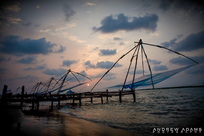 Cochin Fishing Nets - Travel Photographer Andrew Adams