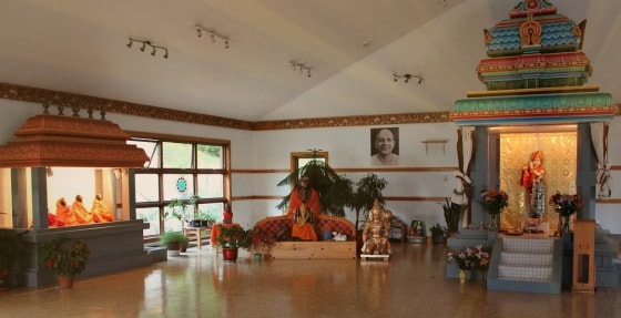 Krishna Temple, Sivananda Yoga Camp, Quebec, Canada