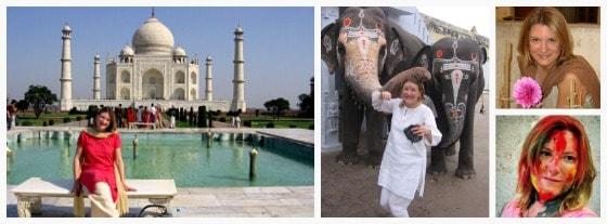 Mariellen Ward, Breathedreamgo, Taj Mahal, Holi, India
