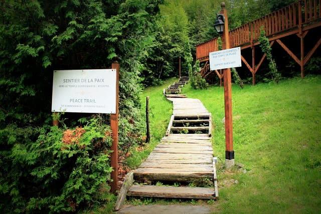 Sivananda Yoga Camp, Quebec, Canada