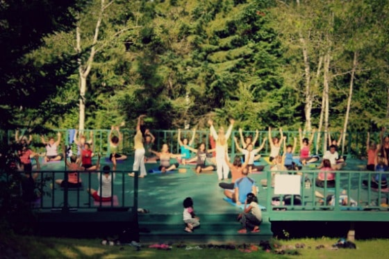 Om Sweet Om: <br />At a yoga ashram in Canada