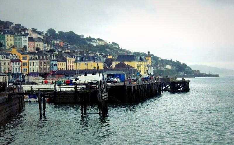 Cobh pier, Cork, Ireland