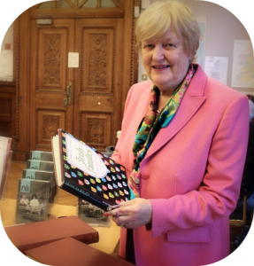Genealogist Helen Kelly