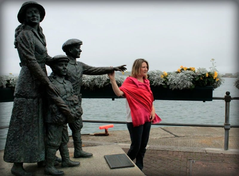 Mariellen Ward at Cobh Ireland for The Gathering