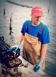 Scott of Raspberry Point Oyster Farm, PEI, Canada