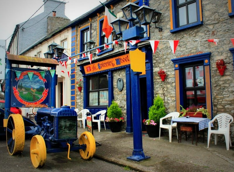 The Spinning Wheel pub, founded 1791, Castletownroche, Cork, Ireland