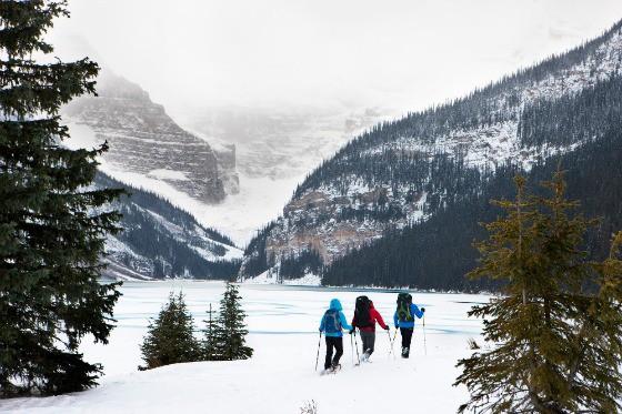 Skiing in Banff National Park, Alberta
