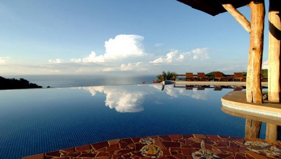 Pool at Hotel Punta Islita, Costa Rica
