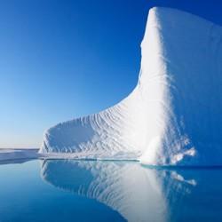 iceberg in Nunavut, Canada in the Canadian Arctic