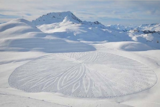 Snow Art by Simon Beck
