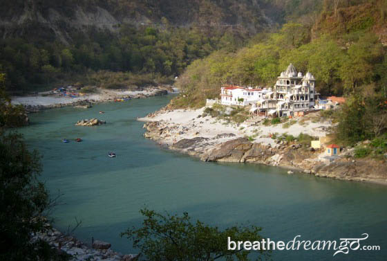 Ganga RIshikesh India
