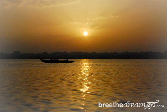 Sunrise Ganga India