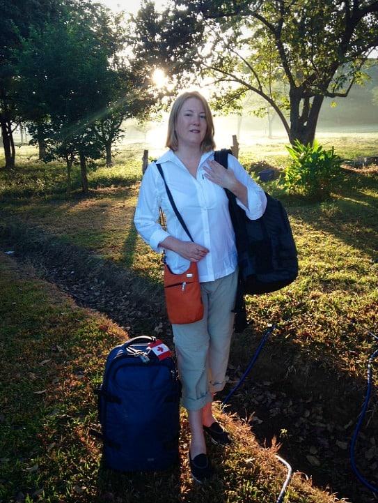 PacSafe luggage Costa Rica travel