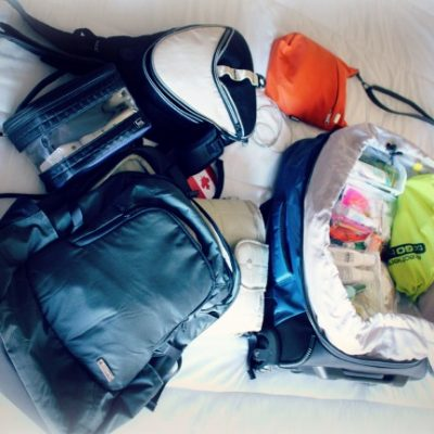 How I (finally) learned to travel light …