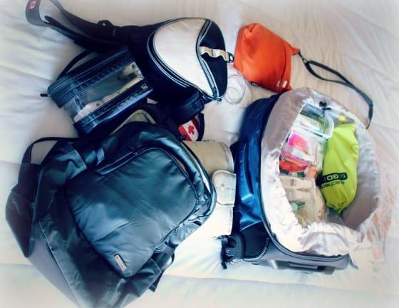 PacSafe luggage travel