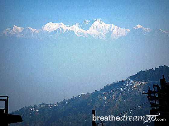 Mount Kangchenjunga, Darjeeling, India, mountain