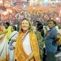 At the Kumbh Mela in Haridwar