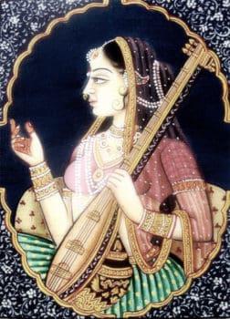 painting of Meerbai Mirabai