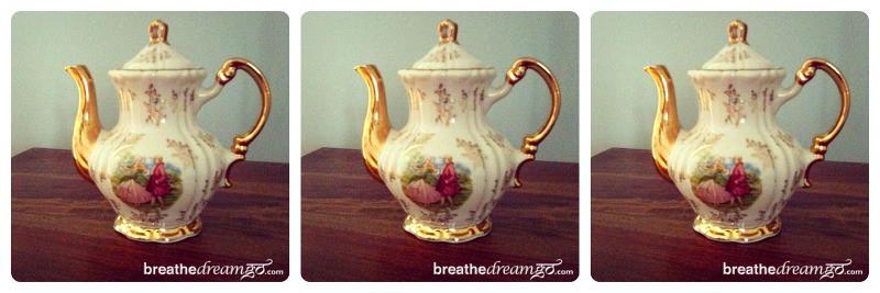 tea, teapot, Darjeeling, India