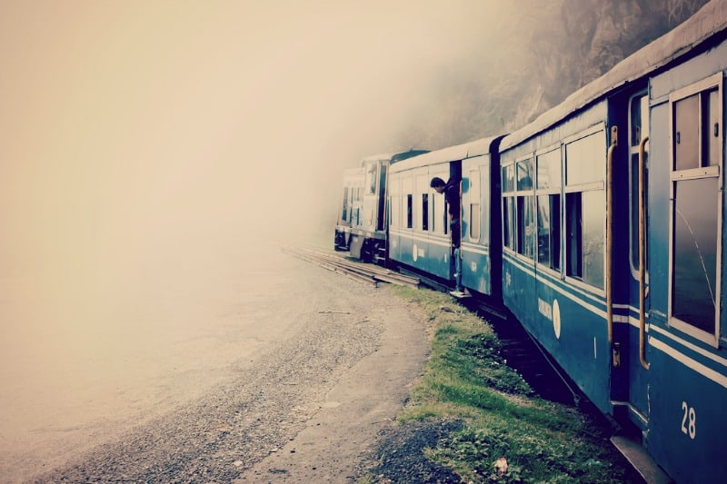 Toy Train, Darjeeling, hill station, India