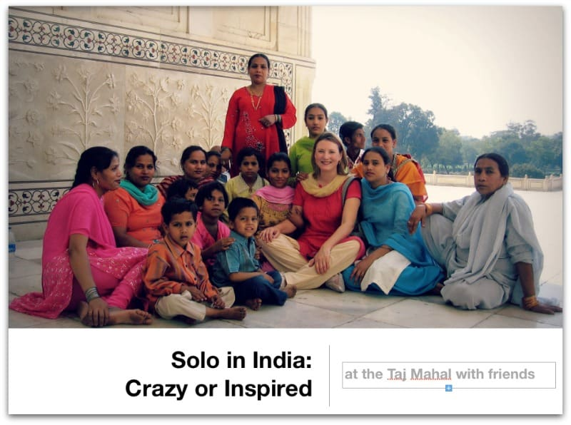 women, India, solo travel