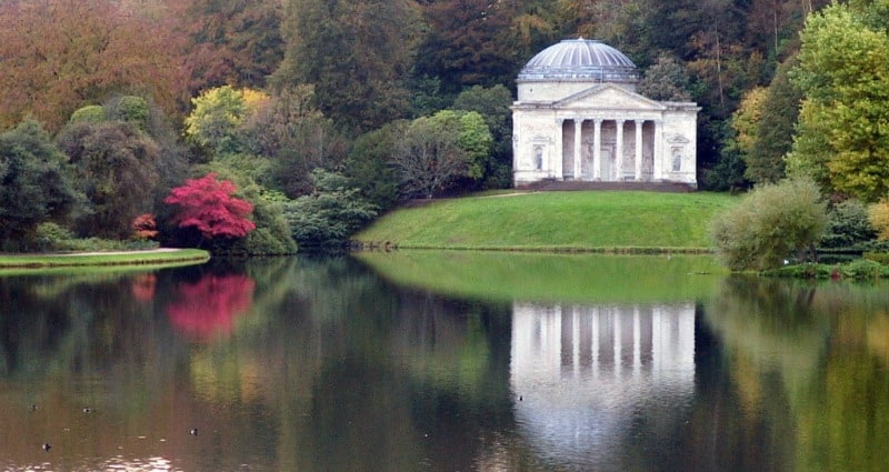 Stourhead Garden, England, United Kingdom