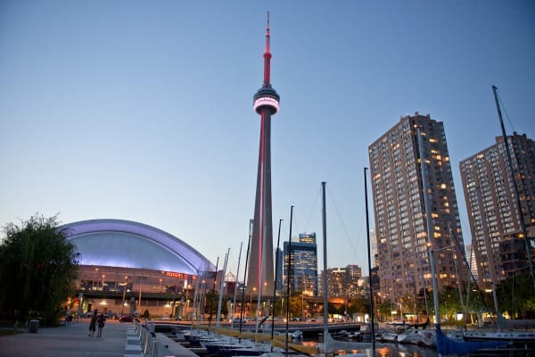 CN Tower and Toronto skyline