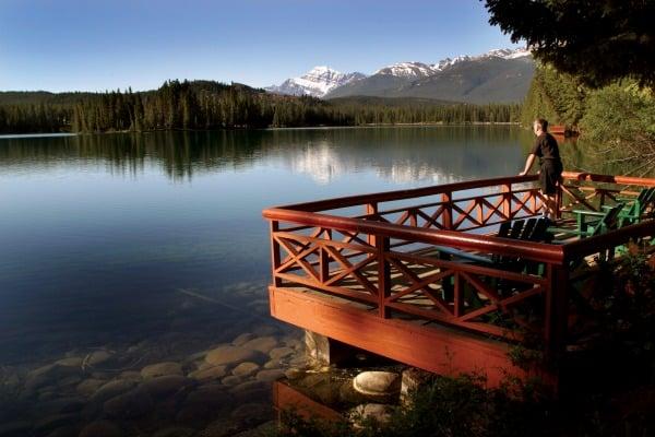 Fairmont Jasper Park Lodge.