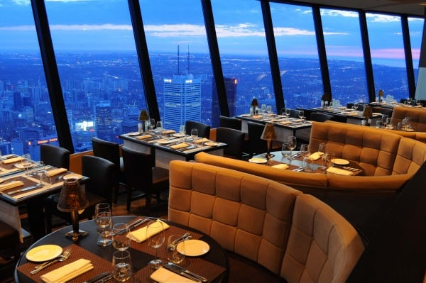 CN Tower, 360 Restaurant, fine dining, Toronto