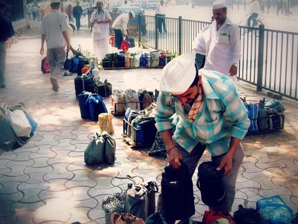Dabbawalla, Dabbah Wallah, Mumbai, Bombay, India, food, tiffin