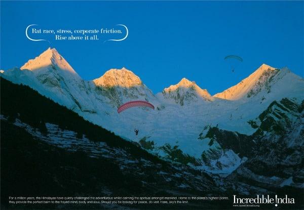 Incredible India tourism and travel, Himalaya