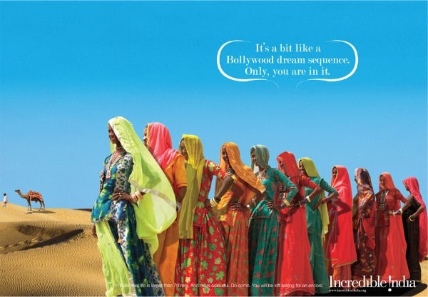 Incredible India tourism and travel, women