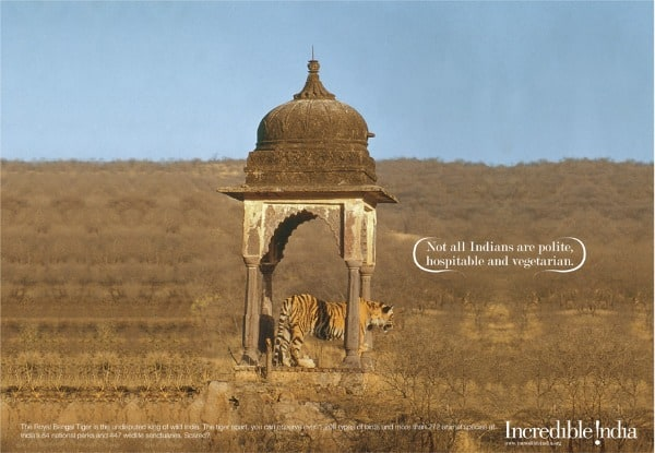 Incredible India tourism and travel, Ranthambore, tiger, national park, Rajasthan