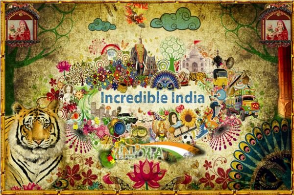 Incredible India tourism and travel