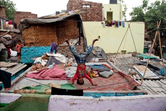 Kathputli Colony, magician's ghetto, Delhi, India