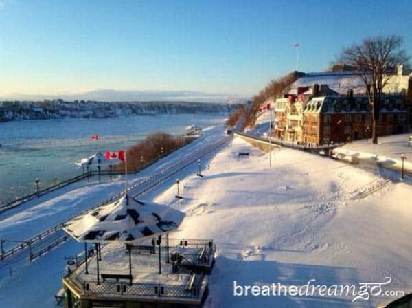 Fairmont Chateau Frontenac, Quebec, Canada