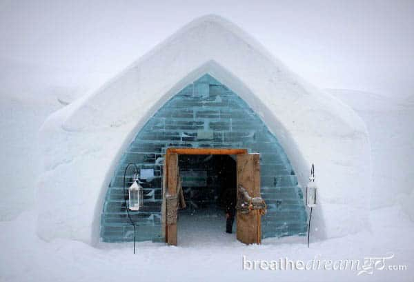 A day at Canada's magical Ice Hotel