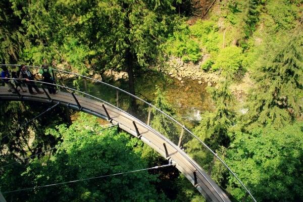 Capilano Suspension Bridge Park, Vancouver, British Columbia, Canada