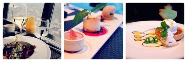 food, dessert, 360 Restaurant, CN Tower, Toronto, Canada
