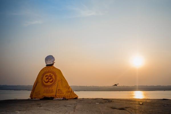 India, river, sunrise, Ganga, Ganges, Hindu