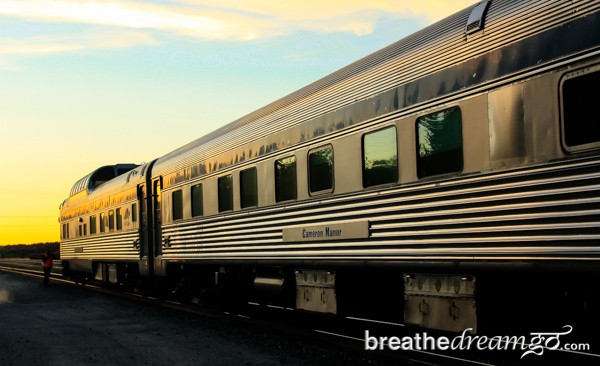 The Canadian, Via Rail, train, Canada