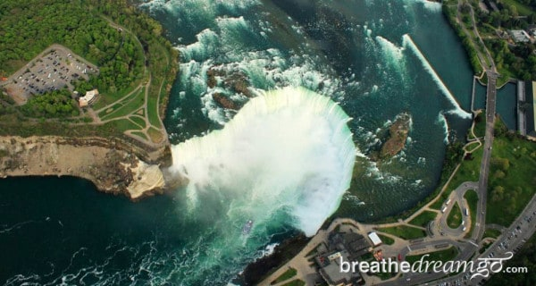 Niagara Falls, waterfalls, Canada, world wonder, top tourist attraction, helicopter