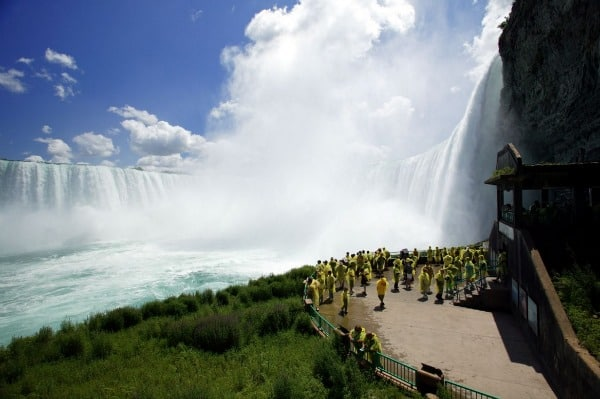 Niagara Falls, waterfalls, Canada, world wonder, top tourist attraction, picnic