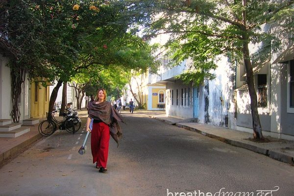 Mariellen Ward, Pondicherry, India