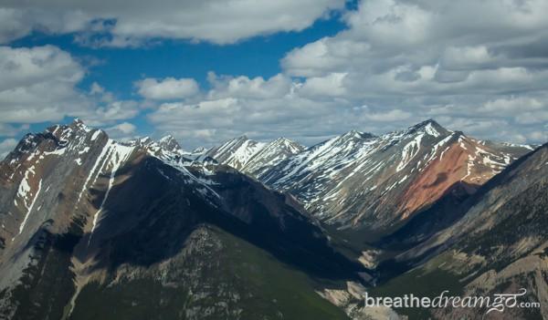 The Rockies, Alberta, Canada, glacier, Banff, Jasper, yoga, heli-yoga, helicopter